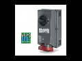 Priza Antiex 125A 3P+N+E 400V IP66 cu siguranta   Scame