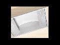 LAMPA ST GREY SIDE 2 X 55 W , SOCLU 2G11, KIT EMERGENTA 1 H, IP20- ALMA