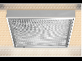 LAMPA ST PURPLE 1 X 58 W, G13, SISTEM OPTIC LT5, BALAST ELECTRONIC, IP 55 - ALMA