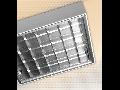 LAMPA ST AMARANTH 4 X 18 W, G13, SISTEM OPTIC LT6VTDK, BALAST DIMABIL, IP 65 - ALMA