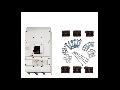 Intrerupator general 3P 800-1600A MC4  Schrack