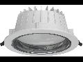 Spot LED 180mm 25W 6500k 230V Lumina rece