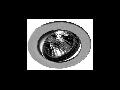 Spot incastrat DL-5 crom