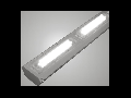 Corp de iluminat cu LED-uri, 1502 x 119 x 78 mm, IP65, aparent, 60W, ELECTROMAGNETICA