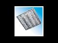 Corpuri de iluminat Fluorescente pentru Montaj Incastrat -  4X18W,  FIRI 03 ICAR DR 7 LAMELE,  ELBA