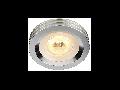 Spot LED aluminium downlight,3 W,lumina calda