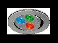 Spot colorat TRITON LED RGB,gri