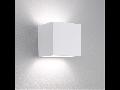 SITRA CUBE,GX53,2x9W,aluminiu,decor rugina