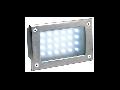 BRICK LED 24 INOX,5W,lumina calda