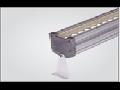 Corp de iluminat cu LED-uri, 1417 x 77 x 206 mm, IP65, 107W, ELECTROMAGNETICA