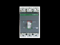 Intrerupator automat industrial tripolar,  3P, N125/ 25A   35kA