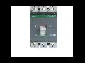 Intrerupator automat industrial tripolar, 3P, S250/ 140-200A, 50kA