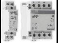 Contactor modular, 40A 1NO+1NC  230V
