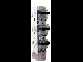 Separator vertical tripolar tip rigla, 3 manete  3P/NH 3, ARS V3/63A