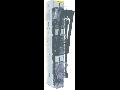 Separator vertical tripolar tip rigla, 1 maneta  3P/NH 2,max 400A