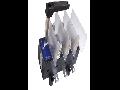 Separator tripolar cu protectie cu maneta rotativa 3P, RAB 2/ 400A