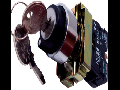 Selector cu cheie 1 RET-0-2 RET (selector+ etrier+2ND), negru