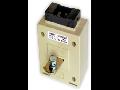 Transformator curent cu bara, MFO30B, 10VA CL 0,5 80/5A