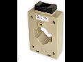 Transformator curent cu fereastra, MFO60, 15VA CL 0,5 750/5A