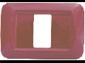 RAMA DECOR 2M/3M(117mm) BORDO  4D02 STIL