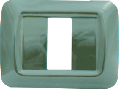 RAMA DECOR 1M/3M(117mm) VERDE  4F01 STIL