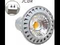 SPOT CU LED - 6W JCDR 230V ??? plastic alb cald, MODEL VT-1869
