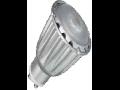 LED Spotlight - 7W GU10 ??? Chip alb cald VT-1809