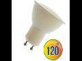 LED Spotlight -  6W GU10 plastic alb VT-1870