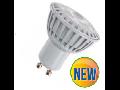 LED Spotlight - 5W GU10 Plastic - alb VT-1878