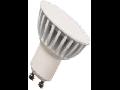 LED Spotlight - 4W GU10 Plastic SMD alb cald VT-1826