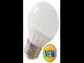 Bec cu LED-uri - 6W E27 G45 alb cald, VT-1879
