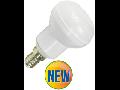 Bec cu LED-uri - 6W E14 R50 alb, VT-1876