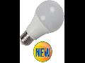 Bec cu LED-uri - 11W E27 A60 termoplastic 4500k, 1055 lumeni