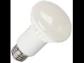 Bec cu LED-uri - 8W E27 R63 alb cald, VT-1862