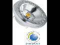 Bec, Sursa de iluminat cu LED- AR111 15W 230V BEAM 20, chip alb cald, VT-1110D