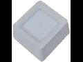 Spot LED de suprafata patrat  alb cald- 22W, W/O driver, VT-1422 SQ