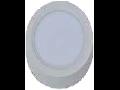 Spot LED de suprafata rotund alb - 8W, W/O driver, VT-1408 RD