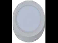 Spot LED de suprafata rotund alb cald - 8W, W/O driver, VT-1408 RD