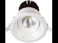 LED Spot 8W COB, rotund, corp alb 6500K, VT-2908RD