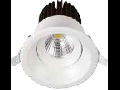 LED Spot 8W COB, rotund, corp alb 3000K, VT-2908RD