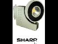 LED EURO 23W- Track  luminos COB -corp alb 5000K,  VT-4525 T