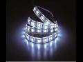 Banda LED - 60 LED-uri alb cald Non-rezistent la apa, 10W/12V, VT-5050 IP20