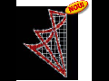 STAR 108 LED & FLASH  (lxh) 1500x2600 mm