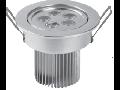 Spot incastrat cu LED, 6W/2700K/IP20, crom mat, TG-3103.11061