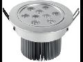 Spot incastrat cu LED, 9W/6500K/IP20, crom mat, TG-3103.11092