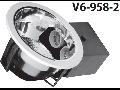 Spot  2XE27xmax. 40W, alb, V6-958-2