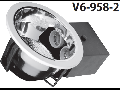 Spot  2XE27xmax. 40W, crom, V6-958-2
