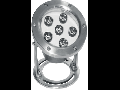 Lampa piscina cu LED IP68, 6 x 1W, TG-3201.11601