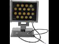 Proiector LED, 18 x 1W/RGB, IP65, TG-4203.1318