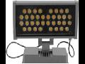 Proiector LED, 36 x 1W/6400K, IP65, TG-4203.1136